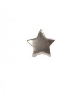 Charm versilbert - Star