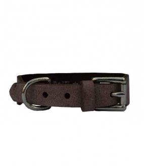 Grundhalsband Nougat 2,5cm