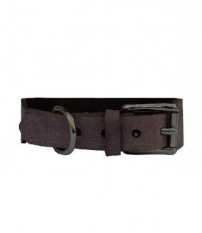 Grundhalsband Nougat 4,0cm