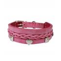 Schmuckhalsband Pink 4,0cm