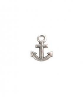 Charm versilbert - Anchor